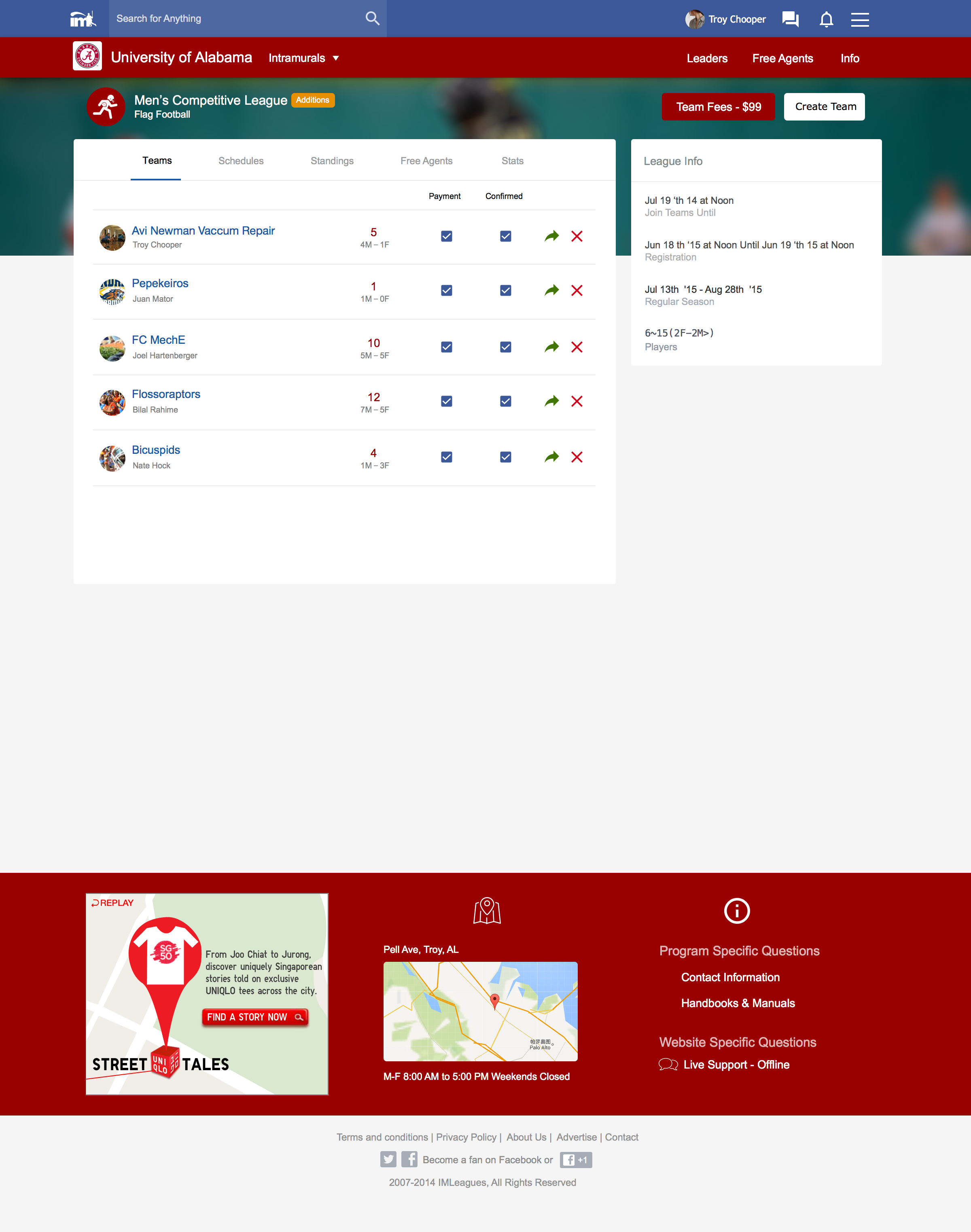 IMLeagues New League Page 7-21-15.png